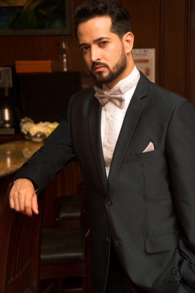Traje de caballero estilo clásico