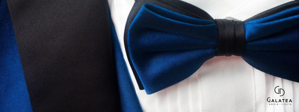 Esmoquin o tuxedo con corbatín para caballero